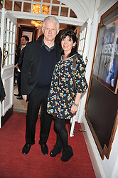RICHARD CURTIS and EMMA FREUD at the Grand Classics screening of American Pie in association with Grey Goose vodka celebrating 100 years of Universal Pictures' Greatest films held at the Electric Cinema, Portobello Road, London on 30th April 2012.