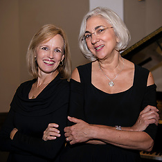 Patricia Eastman and Donna Vince