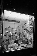 29/03/1963<br /> 03/29/1963<br /> 29 March 1963<br /> Du Pont Orlon fashion week window displays at Gaffney's, Bray, Co. Wicklow.