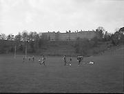 Ireland Soccer Team Training.1983.14.11.1983.11.14.1983.14th November 1983..The Ireland Soccer team trained, for the forthcoming match against Malta, at Stewarts Hospital,Palmerstown Dublin.The entire squad was:..Liam Brady......Brian Cottington.....Gerry Daly....John Devine.....Leo Donnellan.....Tony Galvin.....Tony Grealish.....Ashley Grimes.....Greg Hayes....Chris Hughton....Dennis Irwin.....Patrick Kelch.....Gary Alexander Kelly.....Mark Lawrenson.....Mick Martin......Seamus McDonagh...Edward McGinley.....Brian Mooney.....Kevin Moran......Derek Murray......Liam O'Brien.....Kevin O'Callaghan..David O'Leary..Kenneth Petit de Mange....Paul Power.....Michael Robinson..John Sheridan..Frank Stapleton.....Gary Waddock..Micky Walsh.....Mike Walsh II......Ronnie Whelan.The team was managed by Eoin Hand.