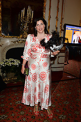 KIRSTY ALLSOPP at The Animal Ball in aid of The Elephant Family held at Lancaster House, London on 9th July 2013.