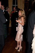 NATALIE JOEL, Charity Dinner in aid of Caring for Courage The Royal Scots Dragoon Guards Afganistan Welfare Appeal. In the presence of the Duke of Kent. The Royal Hospital, Chaelsea. London. 20 October 2011. <br /> <br />  , -DO NOT ARCHIVE-© Copyright Photograph by Dafydd Jones. 248 Clapham Rd. London SW9 0PZ. Tel 0207 820 0771. www.dafjones.com.