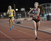 Carrie Dimoff places second in the women's 10,000m in 31:57.85 in the Stanford Invitational in Stanford, Calif., Friday, Mar 30, 2018. (Gerome Wright/Image of Sport)