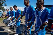 Desfile de bandas, Chiriquí Grande, Bocas del Toro, Panamá.