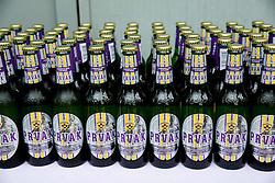 Beer for celebration after NK Maribor became Slovenian National Champion 2015 after football match between NK Maribor and NK Luka Koper in 36th Round of Prva liga Telekom Slovenije 2014/15, on May 30, 2015 in Stadium Ljudski vrt Maribor, Slovenia. Photo by Vid Ponikvar / Sportida