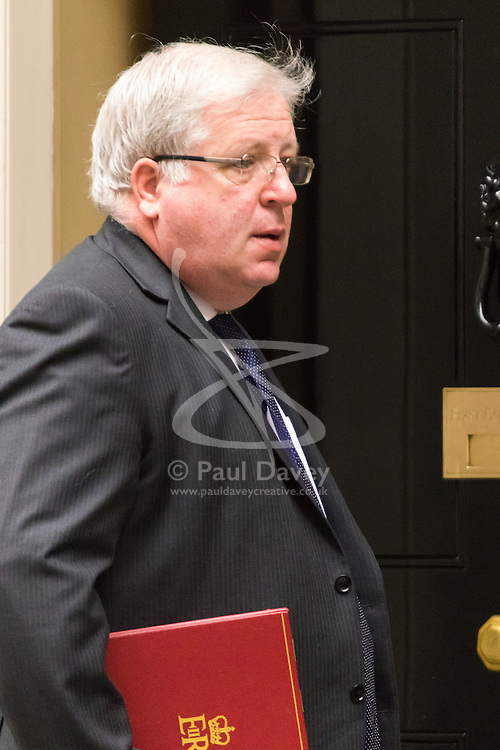 Downing Sreet, London, July14th 2015. Transport Secretary Patrick McLoughlin, arrives at 10 Downing street for the government's weekly cabinet meeting.