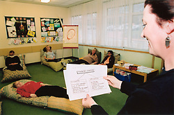 Ante-natal class Bradford Royal Infirmary - looking at pain in labour