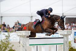 VAN HEEL Arne (NED), Cenbalou<br /> Hagen - Horses and Dreams meets the Royal Kingdom of Jordan 2018<br /> Grosser Preis der DKB Qualifikation DKB-Riders Tour<br /> 30 April 2018<br /> www.sportfotos-lafrentz.de/Stefan Lafrentz