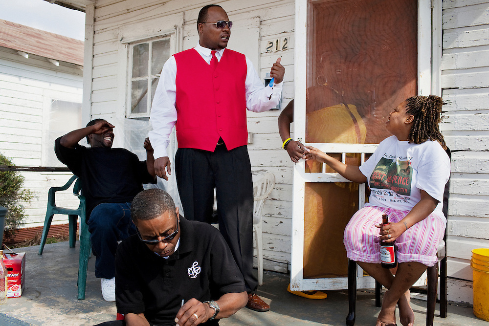 in the Baptist Town neighborhood of Greenwood, Mississippi on Saturday, February 19, 2011.
