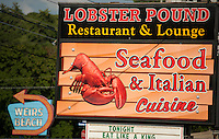 Lobster Pound Restaurant and Lounge offering Seafood and Italian Cuisine at Weirs Beach (Karen Bobotas/for the Laconia Daily Sun)