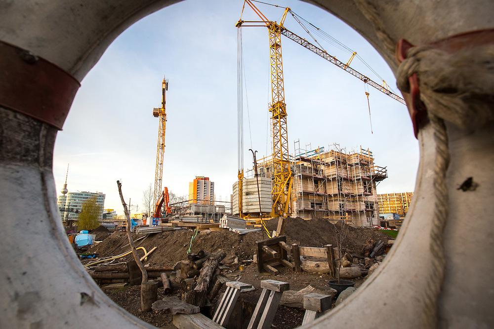 Germany - Deutschland - HOLZMARKT Bauprojekt; BAR 25/Katerblau; HIER: Neubau KITA/Konzertsaal; Stadtentwicklung SPREE Ufer; Berlin 03.12.2015; © Christian Jungeblodt