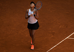 May 7, 2019 - Madrid, MADRID, SPAIN - Naomi Osaka of Japan in action during her second-round match at the 2019 Mutua Madrid Open WTA Premier Mandatory tennis tournament (Credit Image: © AFP7 via ZUMA Wire)
