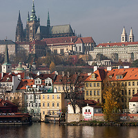 The whole complex of the Prague castle is a mix of palaces, religious edifices and fortifications.