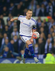 LIVERPOOL, ENGLAND - Saturday, March 12, 2016: Chelsea's captain John Terry in action against Everton during the FA Cup Quarter-Final match at Goodison Park. (Pic by David Rawcliffe/Propaganda)