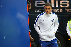 Eden Hazard of Chelsea arrives at Selhurst Park - Mandatory by-line: Jason Brown/JMP - 14/10/2017 - FOOTBALL - Selhurst Park - London, England - Crystal Palace v Chelsea - Premier League