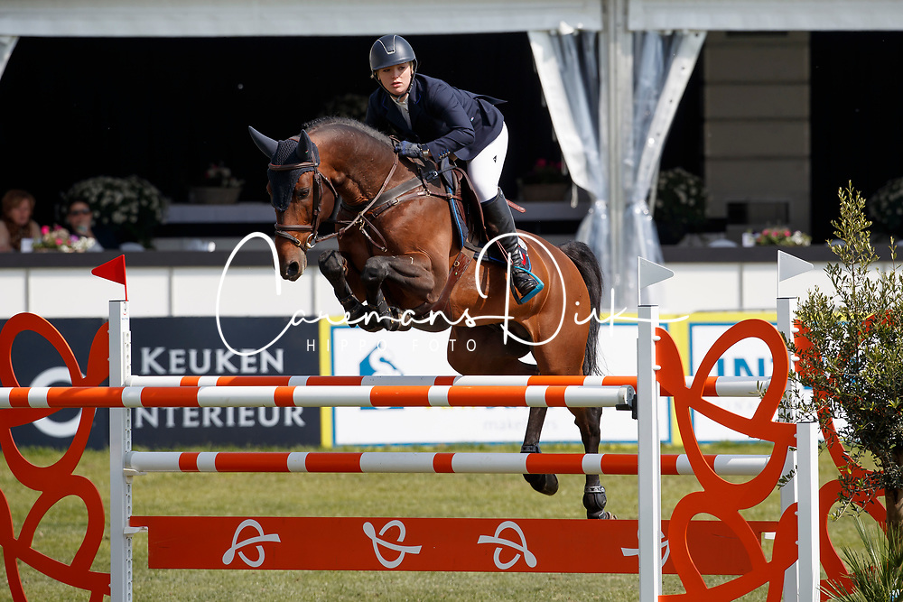 Morssinkhof Micky, NED, Car for love<br /> Rivez Assuratiën Prijs<br /> Nederlands Kampioenschap Jumping Young Riders - Mierlo 2017<br /> © Hippo Foto - Dirk Caremans<br /> 20/04/2017