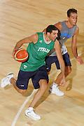 DESCRIZIONE : Bormio Ritiro Nazionale Italiana Maschile Preparazione Eurobasket 2007 Allenamento <br /> GIOCATORE : Matteo Soragna<br /> SQUADRA : Nazionale Italia Uomini EVENTO : Bormio Ritiro Nazionale Italiana Uomini Preparazione Eurobasket 2007 GARA : <br /> DATA : 27/07/2007 <br /> CATEGORIA : Allenamento <br /> SPORT : Pallacanestro <br /> AUTORE : Agenzia Ciamillo-Castoria/S.Silvestri <br /> Galleria : Fip Nazionali 2007 <br /> Fotonotizia : Bormio Ritiro Nazionale Italiana Maschile Preparazione Eurobasket 2007 Allenamento <br /> Predefinita :