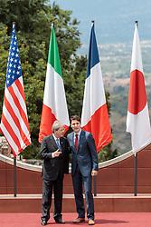 26.05.2017, Taormina, ITA, 43. G7 Gipfel in Taormina, im Bild v.l. Italiens Premierminister Paolo Gentiloni, Kanadas Premierminister Justin Trudeau // f.l. Italy's Prime Minister Paolo Gentiloni Canada's Prime Minister Justin Trudeau during the 43rd G7 summit in Taormina, Italy on 2017/05/26. EXPA Pictures © 2017, PhotoCredit: EXPA/ Johann Groder