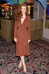 NICOLA ROBERTS at the WGSN Global Fashion Awards 2015 held at The Park Lane Hotel, Piccadilly, London on 14th May 2015.