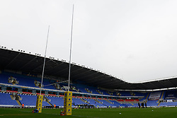 Madejski Stadium - Photo mandatory by-line: Dougie Allward/JMP - Mobile: 07966 386802 - 11/01/2015 - SPORT - RUGBY - Reading - Madejski Stadium - London Irish v Exeter Chiefs - Aviva Premiership