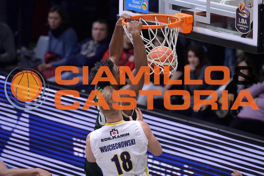 Retin Obasohan<br /> Vanoli Cremona - Sidigas Avellino<br /> Lega Basket Serie A 2016/2017<br /> Cremona, 18/12/2016<br /> Foto Ciamillo-Castoria