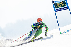 Forerunner during the Audi FIS Alpine Ski World Cup Men's Giant Slalom 58th Vitranc Cup 2019 on March 9, 2019 in Podkoren, Kranjska Gora, Slovenia. Photo by Matic Ritonja / Sportida