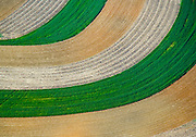 Aerial view of Lancaster Farms, Amish