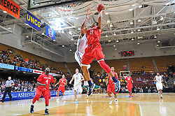 6 March 2015: The Southern Conference hosted their 2015 basketball championship, Friday at UNCA in Asheville, North Carolina.  UNCG 81, Samford 76. Credit: Todd Drexler/SoConPhotos.com