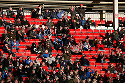 General View showing a large number of empty seats in the stands during an FA Cup game - Photo mandatory by-line: Rogan Thomson/JMP - 07966 386802 - 04/01/2015 - SPORT - FOOTBALL - Sunderland, England - Stadium of Light - Sunderland v Leeds United - FA Cup Third Round Proper.