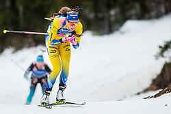 Hanna Oeberg (SWE) during Women 15km Individual at day 5 of IBU Biathlon World Cup 2018/19 Pokljuka, on December 6, 2018 in Rudno polje, Pokljuka, Pokljuka, Slovenia. Photo by Ziga Zupan / Sportida