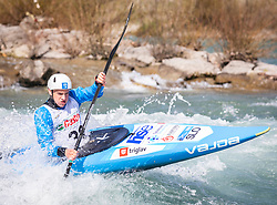 Bozic Stefan (Soske elektrarne / Slovenia) during ICF Canoe Slalom Ranking Race Tacen 2018, on April 8, 2018 in Ljubljana, Slovenia. Photo by Urban Meglic / Sportida