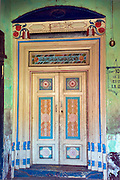 Ornate door in Nagore, a town on the East Coast of South India.