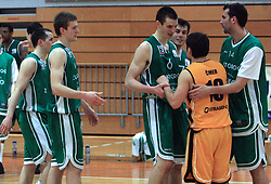 12th Round of UPC League basketball match between KK Luka Koper and KK Zlatorog Lasko, on May 2, 2009, in Arena Bonifika, Koper, Slovenia. Zlatorog won the match 72:71. (Photo by Vid Ponikvar / Sportida)