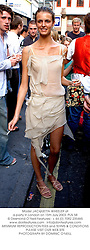 Model JACQUETTA WHEELER at a party in London on 15th July 2003.PLN 58