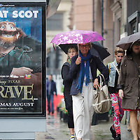 Clear Channel - Disney Pixar Brave movie, Edinburgh 23.07.12