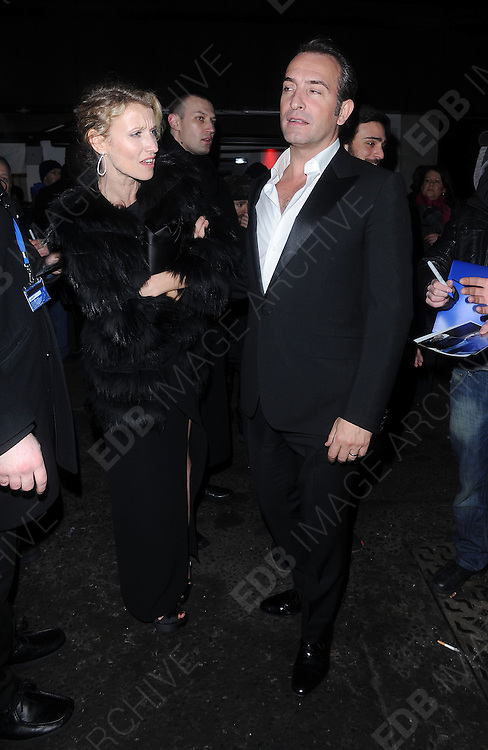 12.FEBRUARY.2012. LONDON<br /> <br /> JEAN DUJARDIN AT THE WEINSTEIN COMPANY AND ENTERTAINMENT FILM DISTRIBUTION POST BAFTA EVENT AT THE LE BARON, EMBASSY CLUB, LONDON<br /> <br /> BYLINE: EDBIMAGEARCHIVE.COM<br /> <br /> *THIS IMAGE IS STRICTLY FOR UK NEWSPAPERS AND MAGAZINES ONLY*<br /> *FOR WORLD WIDE SALES AND WEB USE PLEASE CONTACT EDBIMAGEARCHIVE - 0208 954 5968*