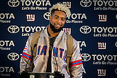 New York Giants Press Day  211016