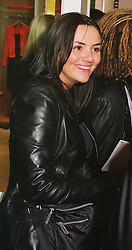 Actress MARTINE McCUTCHEON at a party in London on 23rd February 1999.MOO 139