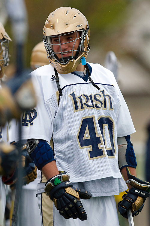 May 1, 2009:    #40 Brant Howell of Notre Dame in action during the NCAA Lacrosse game between Notre Dame and Quinnipiac at GWLL Tournament in Birmingham, Michigan. (Credit Image: Rick Osentoski/Cal Sport Media)