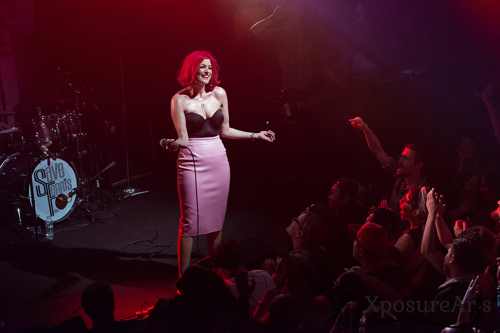 Save Ferris performs at the Independent in San Francisco, CA. Photos: Karen Goldman. Instagram: @xposurearts <br />