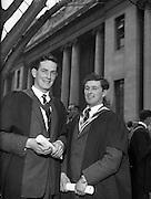 31/10/1960<br /> 10/31/1960<br /> 31 October 1960<br /> Conferring of Degrees at University College Dublin, U.C.D., Dublin.