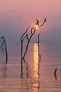 Lake Kariba Sunset by Stan Hellmann