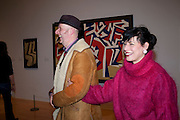 BOB AND ROBERTA SMITH; JESSICA VOORSANGER;  Migrations private view, Tate Britain. London. 30 January 2012.