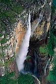 Geology of Guiana shield: Venezuela, Brazil: waterfalls,  Angel Falls; mountain range; tepui