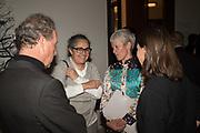 EARL OF SNOWDON; TACITA DEAN; MARIA BALSHAW; LADY SARAH CHATTO;Opening of The New Royal Academy of arts, London. 15 May 2018