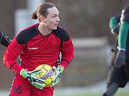 FODBOLD: Tobias Brogaard (AB) under træningskampen mellem FC Helsingør og AB den 19. januar 2019 på Snekkersten Idrætscenter. Foto: Claus Birch