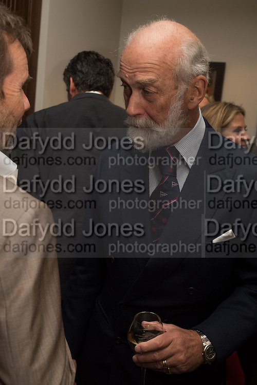 PRINCE MICHAEL OF KENT, The Brown's Hotel Summer Party hosted by Sir Rocco Forte and Olga Polizzi, Brown's Hotel. Albermarle St. London. 14 May 2015