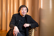 Japanese architect, Shigeru Ban, designer of the CAMPER Volvo Ocean Race pavilion. 29/10/2011 Ban, designer of the CAMPER Volvo Ocean Race pavilion. 29/10/2011