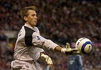 Photo: Glyn Thomas.<br />West Bromwich Albion. Newcastle Utd. The Barclays Premiership. 30/10/2005.<br /> West Brom's keeper Tomasz Kuszczak.