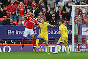 AFC Wimbledon defender Paul Robinson (6) during the EFL Sky Bet League 1 match between Charlton Athletic and AFC Wimbledon at The Valley, London, England on 17 September 2016. Photo by Stuart Butcher.
